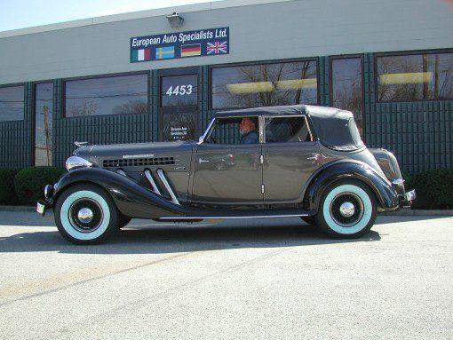 Jim McMahon's 1936 Auburn 852 Tourer 01