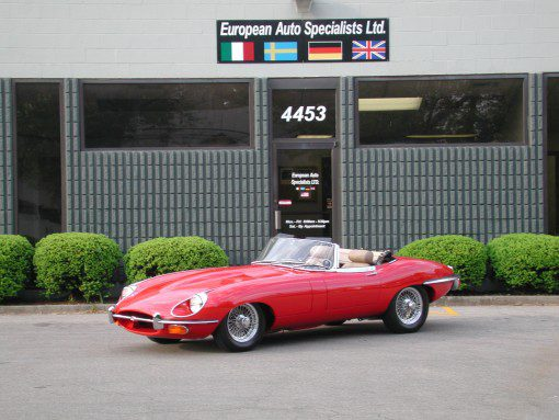 Terry Robert's 1970 E-Type 01